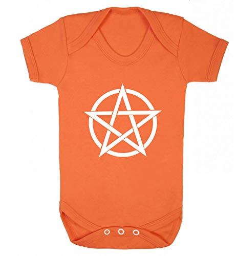 Flox Creative Baby Weste Pentagramm Symbol Gr. 86, Orange