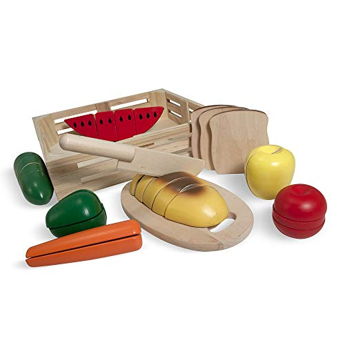 Melissa and Doug Wooden Cutting Food Play Set
