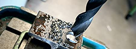 1//4 Noir Heller Tools 232678 Foret Acier 0901 en HSS