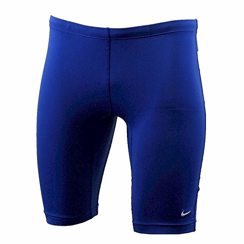 Nike Poly Core Solids Jammer Swimsuit Game Royal Performance Swimwear Sz: 30