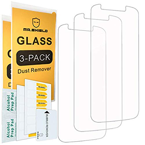 [3-PACK]- Mr.Shield For Motorola Moto E5 Cruise [Tempered Glass] Screen Protector with Lifetime Replacement