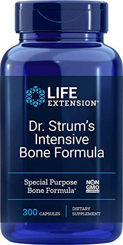 Life Extension Dr. Strum's Intensive Bone Formula, 300 Caps, 410 g