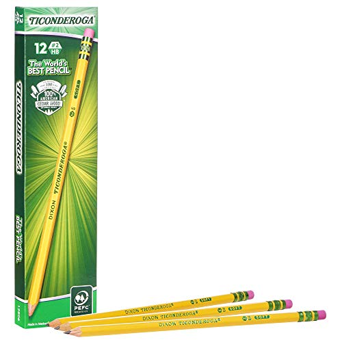 Ticonderoga Wood-Cased Pencils, ...