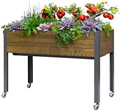 CedarCraft Self Watering Elevated Spruce Planter 21 x 47 x 32 H The Flexibility of Container product image