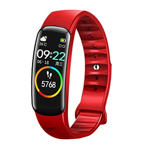 weijie Smart Watch, Fitness Tracker with Heart Rate MonitorActivity Tracker IP67 Waterproof Smart Fitness Band with Step,Calorie Counter Sleep Monitor, Pedometer Watch for Kids Women and Men