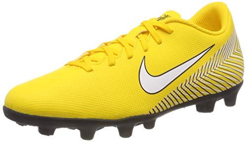 Nike Vapor 12 Club NJR FG/MG Mens Soccer-Shoes (11.5 M US, Amarillo/White-Black)