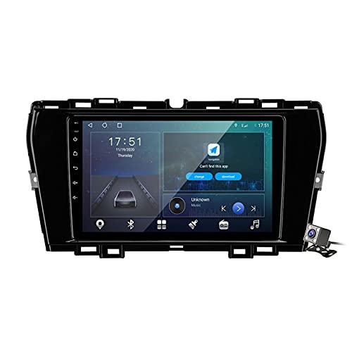 Buladala Android 10 Autoradio Stereo GPS Navigatore 2 DIN con 9' Schermo per SsangYong Tivoli 2019-2021 Supporto FM AM RDS DSP/Controllo del Volante/Carplay Android Auto/BT Vivavoce,M300s