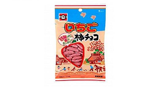 元祖柿の種 いちご柿チョコ 70g