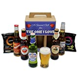 """A Gift for the One I Love"" Premium Beer Hamper 