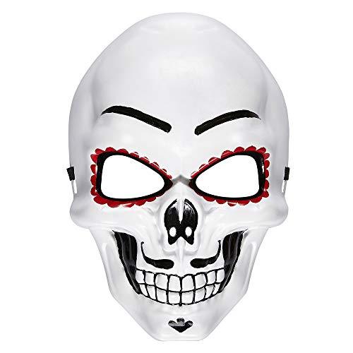 Widmann 95707 Maske Dia de Los Muertos, mens, One Size