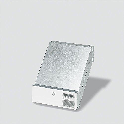 Siedle 2543561 Durchwurfbriefkasten NACH DIN 32617 BKV 611-3/1-0 W, weiß