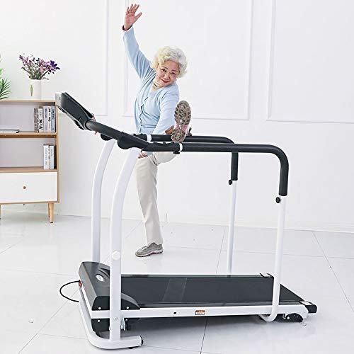COKECO Tapis Roulant Elettrico Attrezzatura Esercizi Fitness Multifunzionale LED Portante 120 kg per Uso Domestico Tapis Roulant Elettrico Allenamento per La Riabilitazione per Anziani