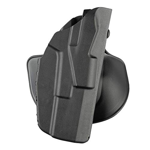 Safariland 7378, ALS Concealment Paddle and Belt Loop Combo Holster, Fits: Glock 26, 27, 33, Black - STX Plain, Right Hand