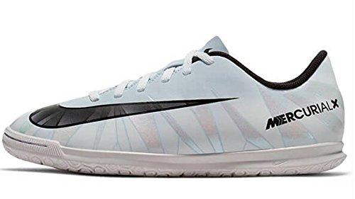 Nike Unisex-Erwachsene Mercurial X Vortex 3 CR7 IC JR 852495 40 Sneaker, Weiß Schwarz, 37.5 EU