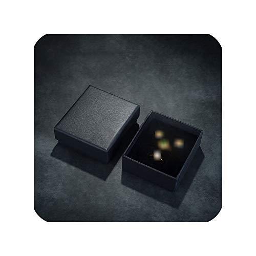 mijn kat Black Paper Gift Box voor Bangle Armband Oorbel Ring Ketting Mode Gift Bag Sieraden verpakking/Niet inbegrepen product
