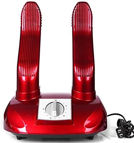 KAKTT Secador de Zapatos eléctrico Calentador de Botas, Calentador de pie de esquí, Guantes portátiles Calcetines Secado de Calzado, con Temporizador Desodorante para prevenir el ozono