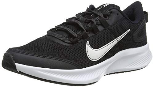 Nike Damen Run All Day 2 Running Shoe, Schwarz Weiß, 36.5 EU