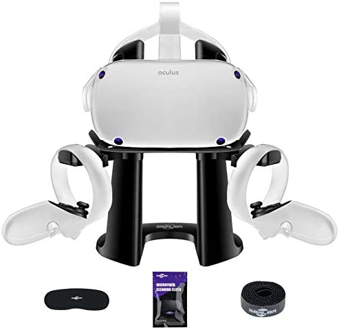 SARLAR VR Stand Display Holder for Oculus Quest 2 Quest Rift S Valve Index Headset and Touch product image