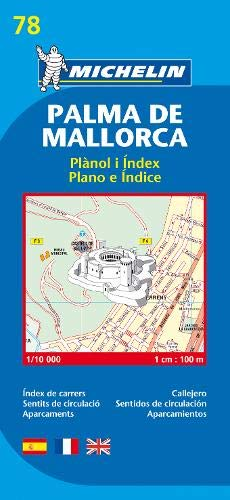 Palma de Mallorca - Michelin City Plan 78: City Plans (Planos Michelin)