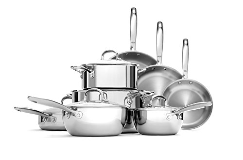 OXO Good Grips Tri-Ply Stainless Steel Pro 13 Piece Set (Renewed)