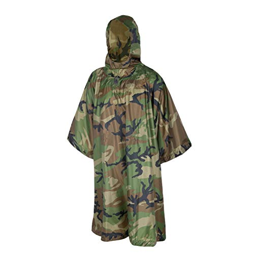 Helikon-Tex Poncho U.S. Model - Polyester US Woodland