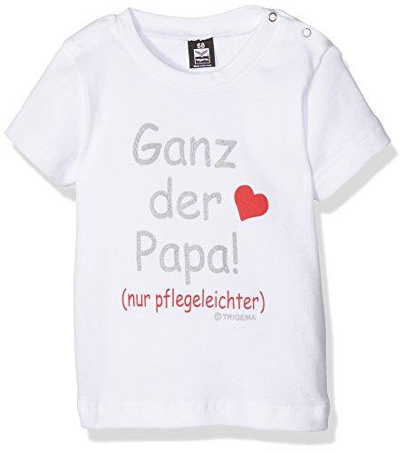 Trigema 1852851, T- T-Shirt Mixte bébé, Blanc (Weiss), 6 Mois