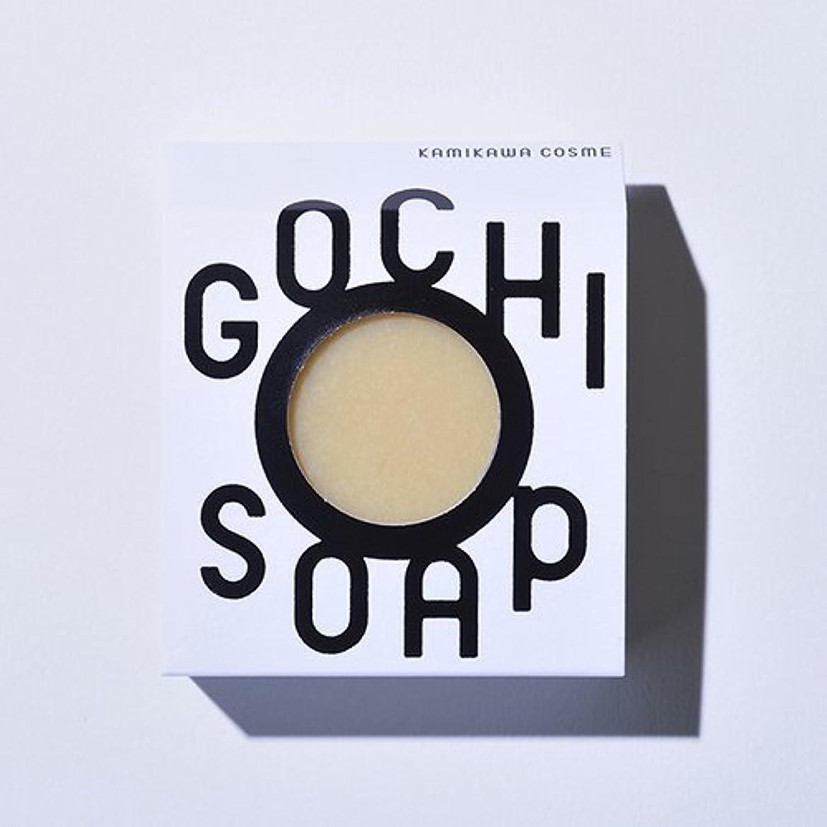 バースト信号カテナGOCHI SOAP ゴチソープ 山路養蜂園の蜂蜜ソープ