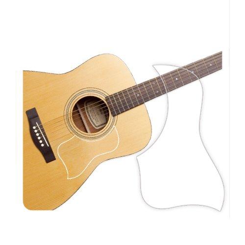 Plektrumschutz für Akustikgitarre, transparent Pickguard Style Matte
