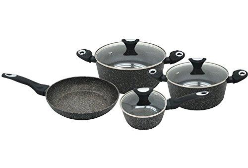 Série de casseroles avec le revêtement de marbre 7 pcs Klausberg KB-7030