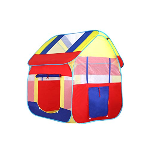 LHY NEWS Kids Tent Indoor Outdoor Use Foldable Ball Pit Pool Game House Play Tent Toys Portable Lawn Camping Tent Best Gifts