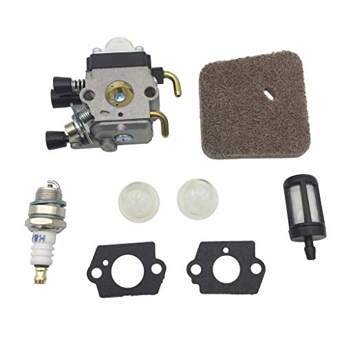 Hardware Carburador Filtro de Aire Bujía para ZAMA C1Q STIHL FS38 45 46 55 KM55 FC55