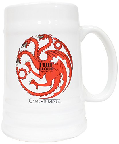 SD toys Fire and Blood Targaryen Jarra Game of Thrones, cerámica, Centimeters