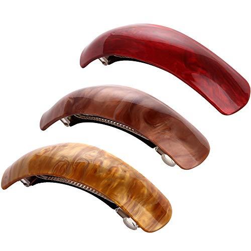 LONEEDY große, schöne, einfache, klassische Haarspangen, exquisite Haarspangen für Damen