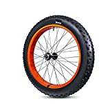 Lxrzls Extra-ancho 26 * 4.8 Neumático de bicicleta gorda Neumático exterior Tubo interior Tubo de nieve Bicicleta de nieve Bicicleta de grasa MTB Piezas de bicicleta de montaña Accesorios de bicicleta