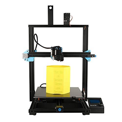 Sovol SV03 Großer 3D-Drucker 350 x 350 x 400 mm mit Direct Drive Extruder, BL Touch Auto Sensor, Silent Mainboard, Filament Sensor und Glasplate Heizbett