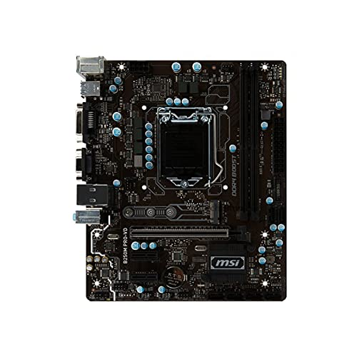 Placa base Placa base para computadora compatible Fit for MSI B250M PRO-VD Placa base LGA 1151 DDR4 Compatible Fit for Intel B250 B250M Placa base de escritorio SATA3 USB3.0 PCI-E X16 3.0 Computadora
