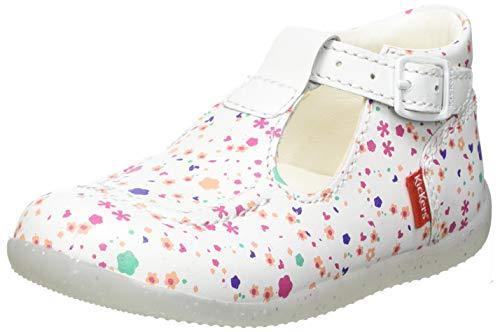 Kickers BONBEK-2, Chaussure Baby bébé Fille, Blanc (Blossom), 25 EU