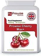 Cherry Max 1500mg 90 Capsules High Strength Montmorency Cherries - UK Manufactured | GMP Standards b...