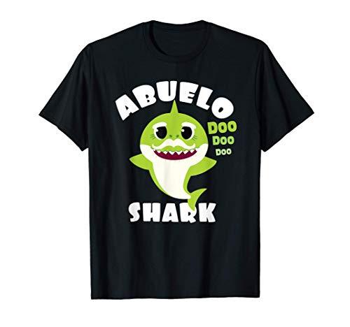 Hombre Regalo de abuelo tiburón - Camisa de Regalo Abuelo Camiseta