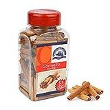 DROGHERIA ALIMENTARI 170 g de canela en varillas en dispensador para dulces, postre y compuestos de fruta