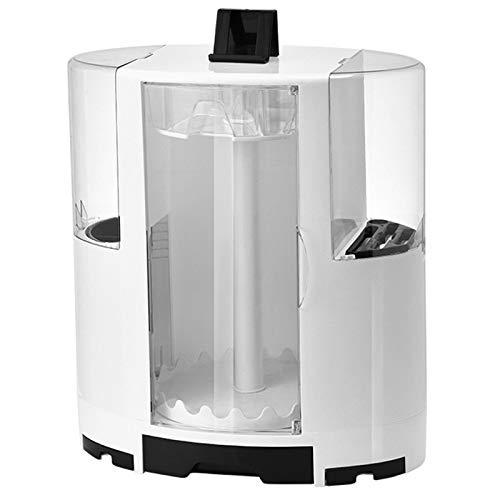 Especiero Organizador Cocina Multifunción Spice Rack 360° Giratorio Desmontables Estante Especias Extensible Lavabo Cocina Para Almacenamiento Baño Dormitorio Cocina Superficie,Blanco