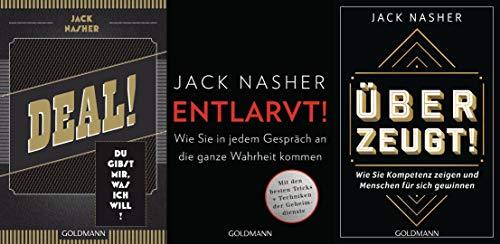 Wirtschaftspsychologe Jack Nasher Deal! + Entlarvt! + Überzeugt! im Set