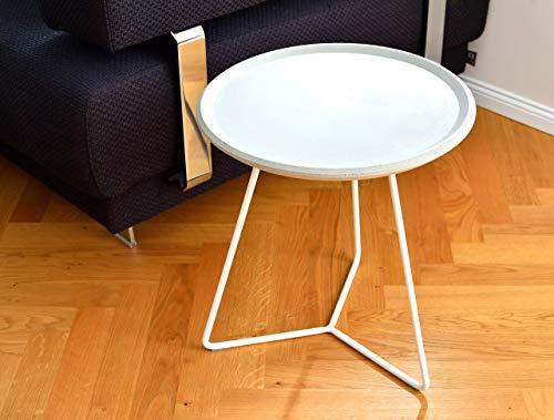 Tisch aus Beton Beistelltisch Gartentisch Rund Couchtisch handgemacht in Deutschland