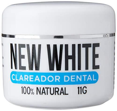 Kit 3 unidades New White Clareador Dental 100% Natural 11g