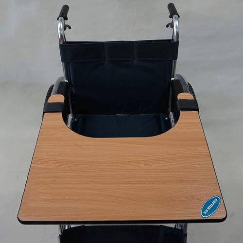 GHzzY Rolstoellade - Rolstoellade Tafel om te eten, Lezen, Schrijven, Computers spelen of Schaken - Houten Rolstoeltafel