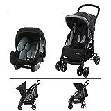 TEXAS Silla de paseo para niños de 6 a 36 meses - Con posición reclinada + silla de coche Beone recomendada 4 estrellas ADAC Grp 0+ (0-13 Kg)