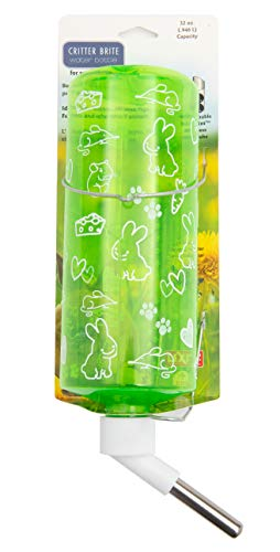 Lixit Animal Care Critter Bright Translucent Cage Water Bottle
