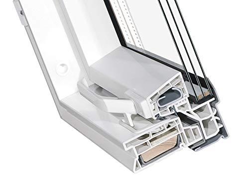 Kunststoff Dachfenster 66x98 cm OptiLight Energie mit 3-fach Verglasung, Lüftungsblende und Eindeckrahmen | Schwingfenster von FAKRO Gruppe