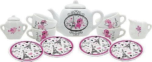 alta calidad Schylling Schylling Schylling La Tea Da Porcelain Tea Set by Schylling  alta calidad general