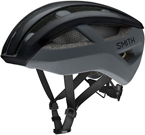 SMITH Network MIPS Casco de Ciclismo, Unisex, Cemento Negro Mate, L
